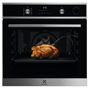 Built-in oven Electrolux (pyrolytic cleaning) EOC6P77WX