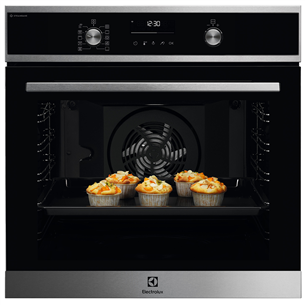Built-in oven Electrolux (pyrolytic cleaning) EOD6P77WX