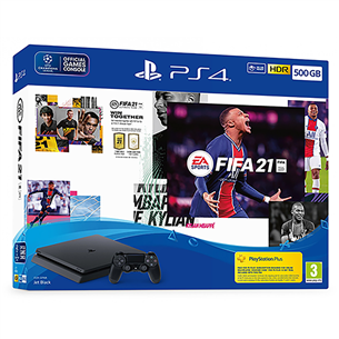 Mängukonsool Sony PlayStation 4 Slim (500 GB) + FIFA 21 711719828723