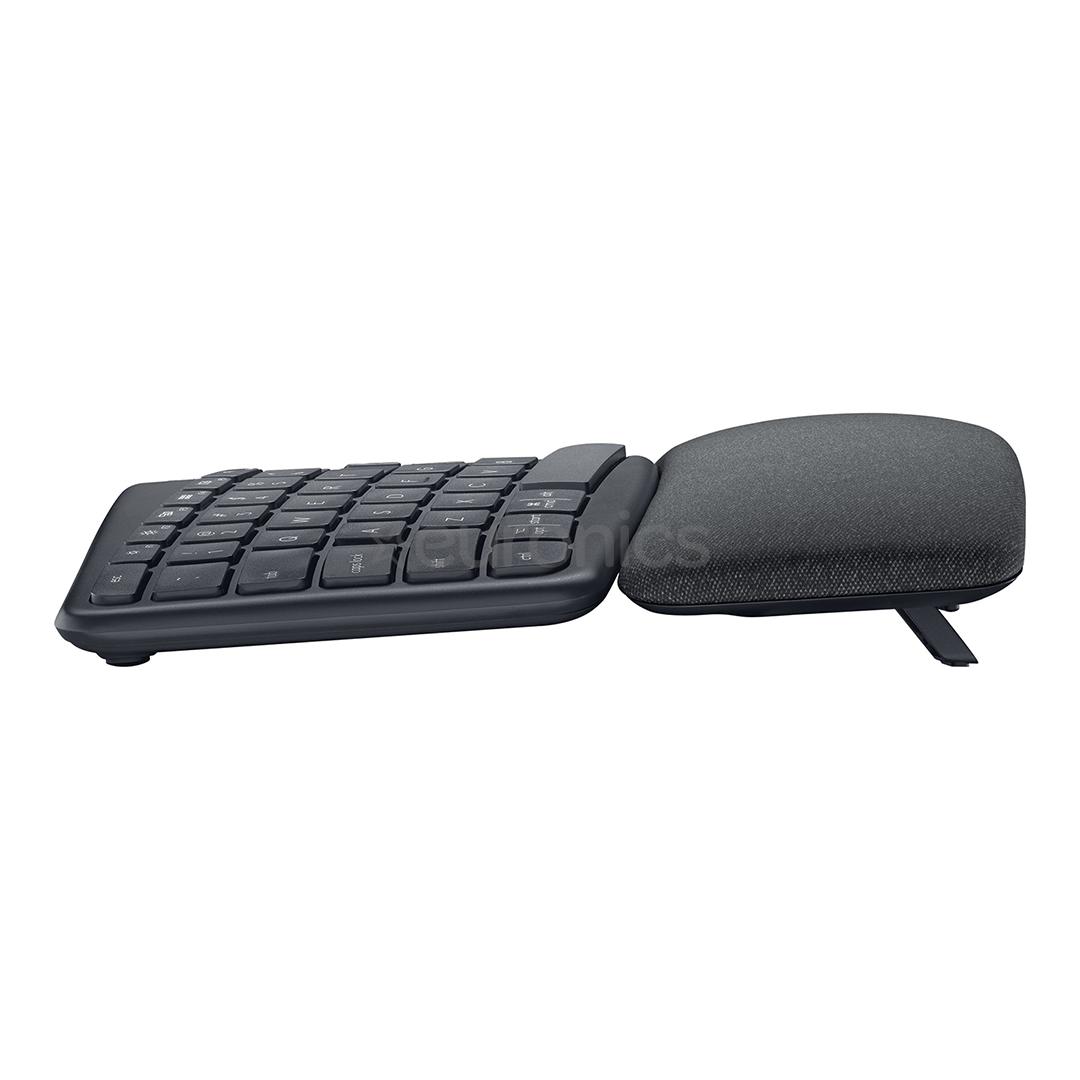 Juhtmevaba klaviatuur Logitech ERGO K860 (ENG)