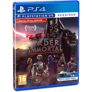 PS4VR game Vader Immortal: A Star Wars VR Series 5060522096726