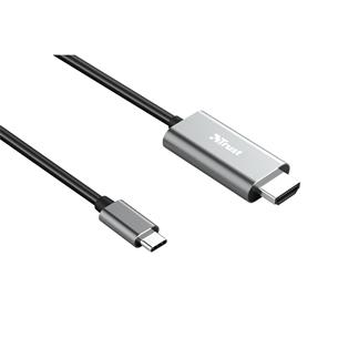 Кабель Trust Dalyx USB-C -> HDMI 23332