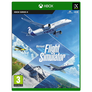 Xbox Series X game Microsoft Flight Simulator 889842779523