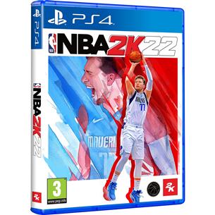 PS4 game NBA 2K22 PS4NBA2K22
