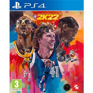PS4 game NBA 2K22 75th Anniversary Edition PS4NBA2K22ANNI