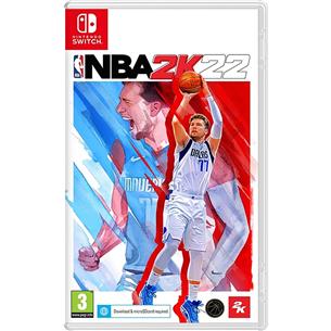 Switch game NBA 2K22 SWNBA2K22