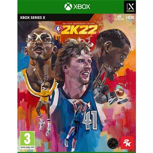Xbox Series X game NBA 2K22 75th Anniversary Edition XSXNBA2K22ANNI