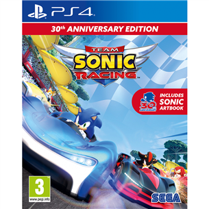 PS4 mäng Team Sonic Racing - 30th Anniversary 5055277043903