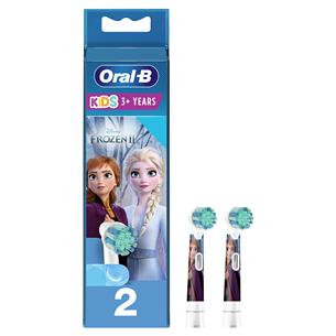Насадки для детской электрической зубной щетки Braun Oral-B (2 шт) EB10-2/FROZENSOFT