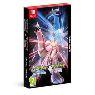 Игры Pokémon Brilliant Diamond + Shining Pearl для Nintendo Switch (предзаказ) 045496428372