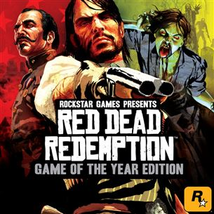 PlayStation 3 mäng Red Dead Redemption (Game of the year edition)
