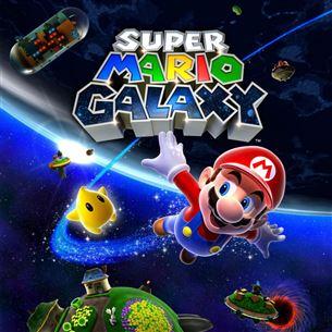 Nintendo Wii mäng Super Mario Galaxy