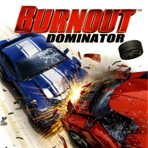 PlayStation Portable mäng Burnout Dominator