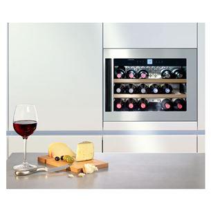 Integreeritav veinikülmik Liebherr GrandCru (maht: 18 pudelit)