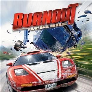 PlayStaton Portable mäng Burnout: Legends