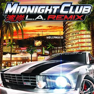 PlayStaton Portable mäng Midnight Club: LA Remix