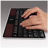 Juhtmevaba klaviatuur Logitech Solar K750 (ENG/RUS)