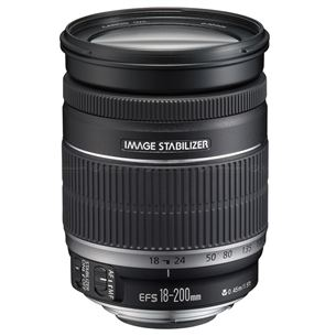EF-S 18 - 200mm F3.5 - 5.6 IS lens, Canon
