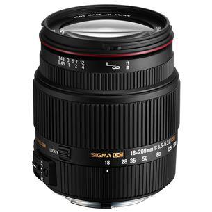 Objektiiv AF 18-200mm F3.5-6.3 DC OS II HSM Canonile, Sigma