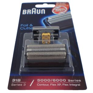 Replacement Foil and Cutter Braun Series 3 31B