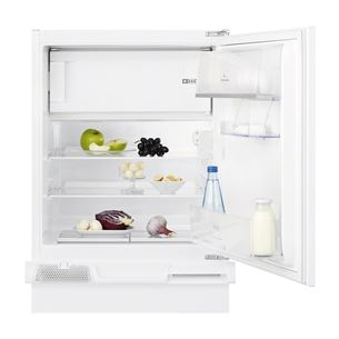 Built-in refrigerator, Electrolux / height: 81,5 cm