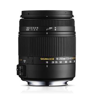 18-250 mm F3.5-6.3 DC Macro OS HSM objektiiv, Sigma