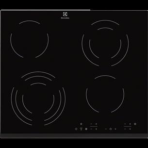 Klaaskeraamiline pliidiplaat, Electrolux / laius: 59 cm