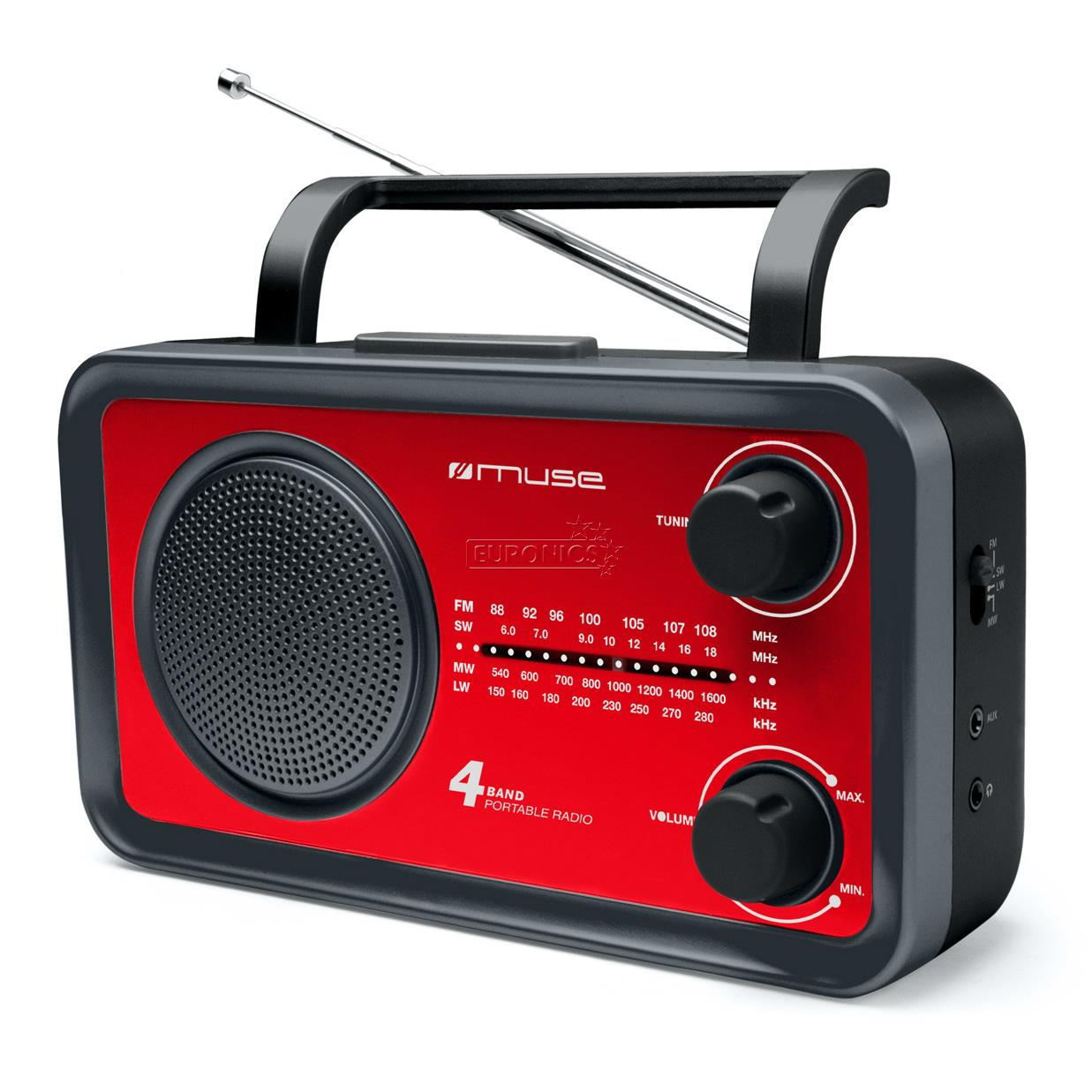 Portable radio M-05RED, Muse, M-05RED