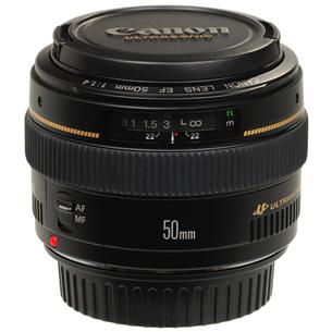 Objektiiv EF50mm f1.4 USM, Canon