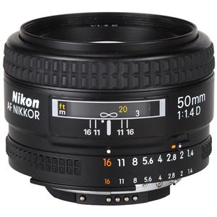 Lens AF NIKKOR 50mm f/1.4D, Nikon