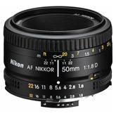 Objektiiv 50mm f/1.8D AF NIKKOR Nikon
