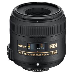 Объектив AF-S DX Micro-NIKKOR 40 мм f/2.8 G, Nikon