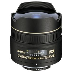 Объектив 10.5 мм f/2.8G ED DX Fisheye-NIKKOR, Nikon