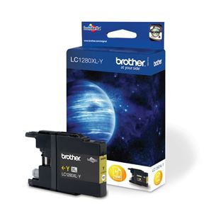 Yellow ink cartridge LC1280XLY, Brother