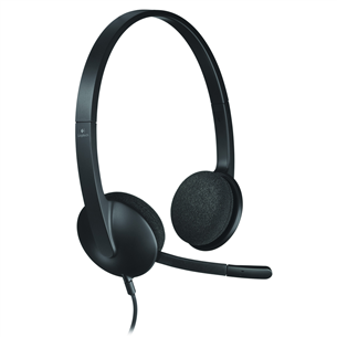 Kõrvaklapid mikrofoniga H340, Logitech