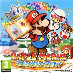 Nintendo 3DS mäng Paper Mario: Sticker Star