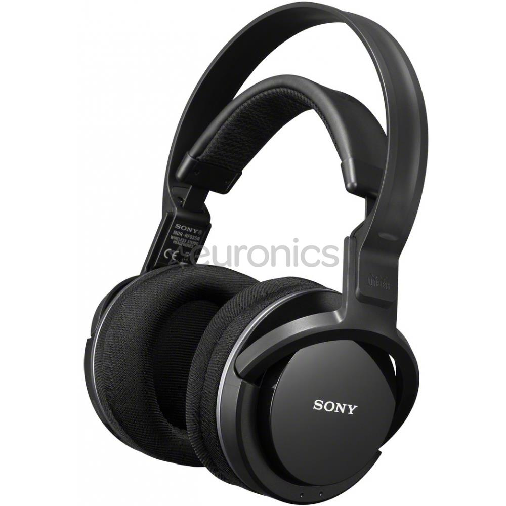 wireless headphones sony mdrrf855rk eu8. Black Bedroom Furniture Sets. Home Design Ideas