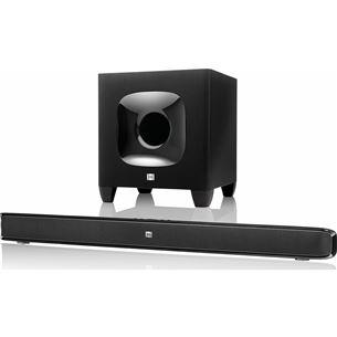 Soundbar-kõlarisüsteem ja subwoofer, JBL