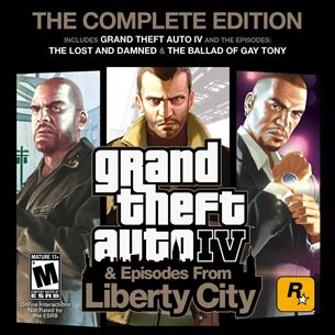 PlayStation 3 mäng Grand Theft Auto IV: The Complete Ed.