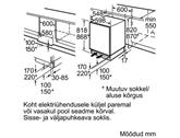 Built-in cooler Bosch (81,8 cm)