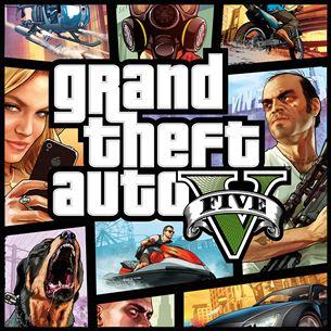 Xbox360 mäng Grand Theft Auto V