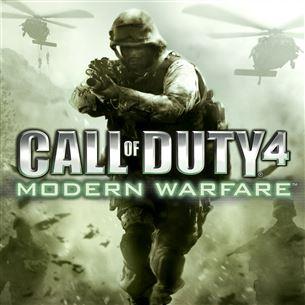 PlayStation 3 mäng Call of Duty 4: Modern Warfare