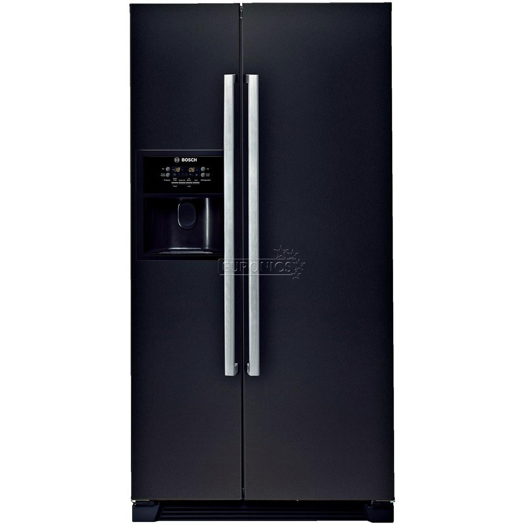 Side-by-side refrigerator NoFrost, Bosch / height: 180 cm, KAN58A55
