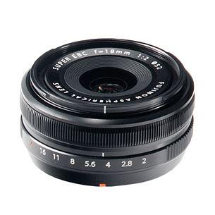 Objektiiv Fuji XF 18mm f/2 ASPH, Fujifilm