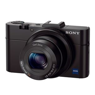 Fotokaamera Cybershot RX100 II, Sony / Wi-Fi, NFC