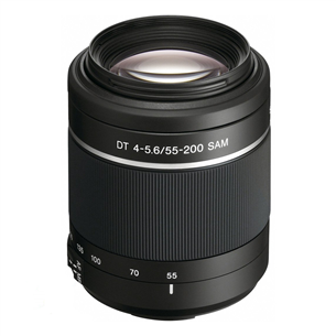 DT 55-200mm F4-5.6 SAM lens, Sony