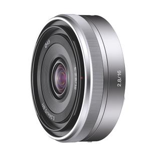 Объектив-блинчик E 16 мм F2.8, Sony
