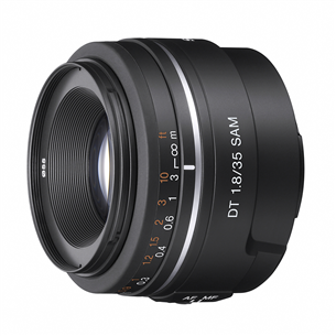 A-bajonetiga DT 35mm F1.8 SAM objektiiv, Sony