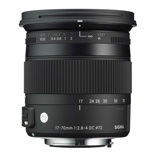 17-70mm F2.8-4 DC Macro HSM lens for Sony, Sigma