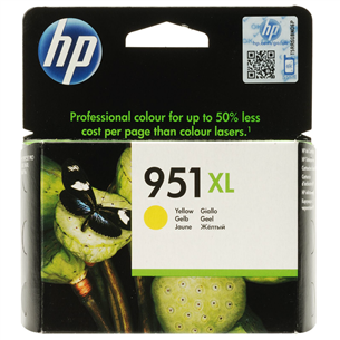 Cartridge 951XL yellow, HP
